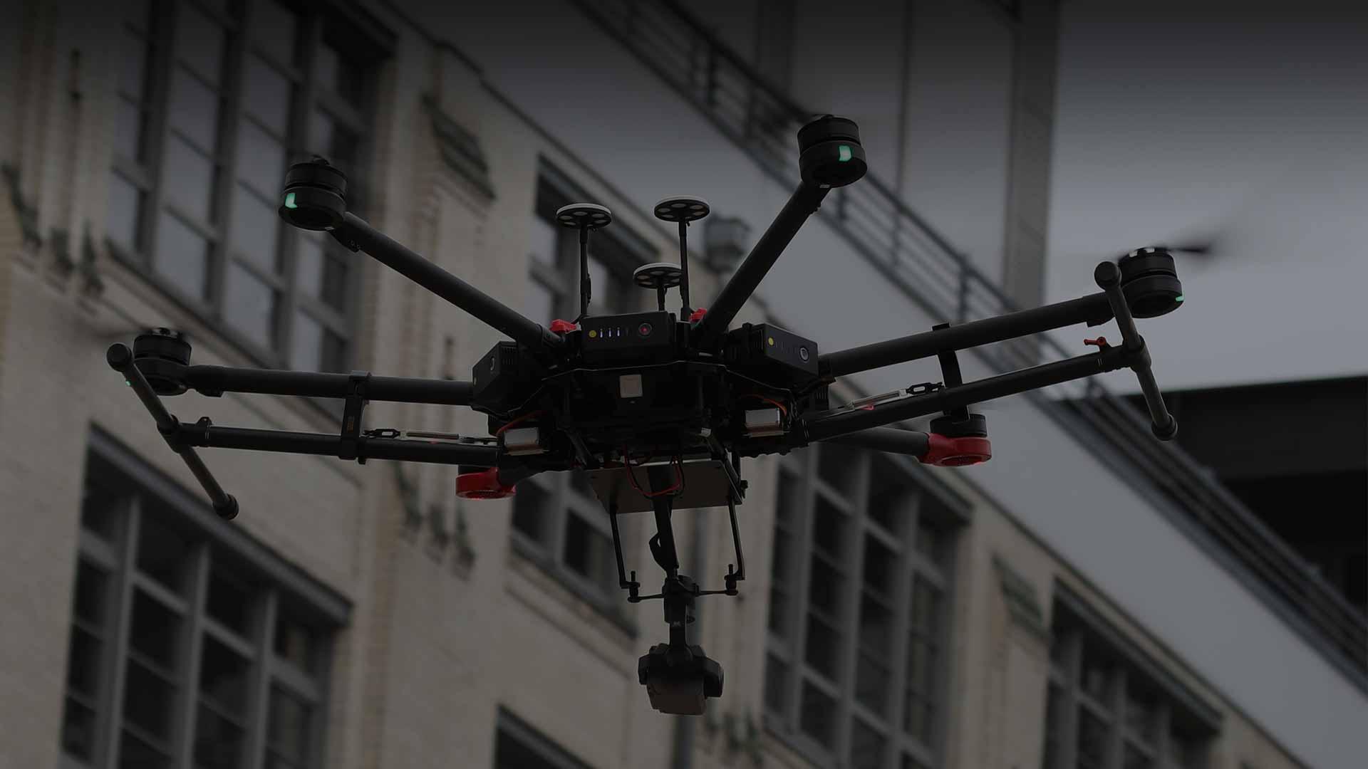 Drohnen - Einsatz